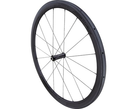 Specialized Roval CLX 40 Tubular Front Wheel (Carbon/Black) (QR x 100mm) (700c / 622 ISO)