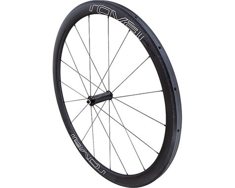 Specialized Roval CLX 40 Tubular Front Wheel (Carbon/Black/White) (QR x 100mm) (700c / 622 ISO)