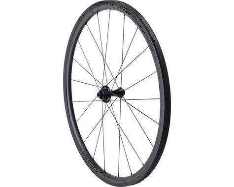 Specialized Roval CLX 32 Disc Tubular Front Wheel (Carbon/Black) (QR/12 x 100mm) (700c / 622 ISO)