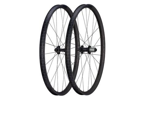 Specialized Roval Terra CLX Evo Wheelset (Carbon/Black (Shimano/SRAM 11spd Road) (12 x 100, 12 x 142mm) (650b / 584 ISO)