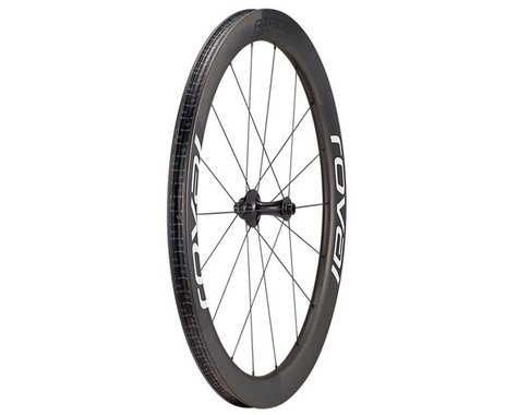 Specialized Roval Rapide CLX Front Wheel (Carbon/White) (12 x 100mm) (700c / 622 ISO)