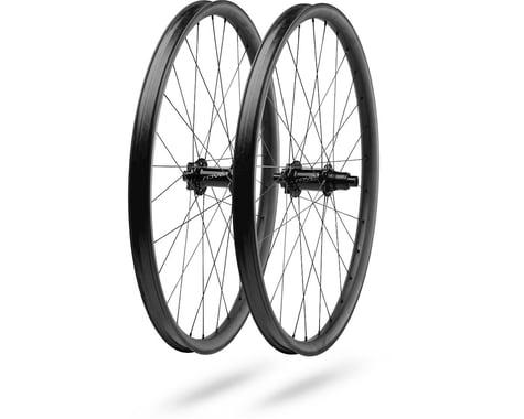 "Specialized Roval Traverse SL Fattie Carbon Wheelset (Blac (SRAM XD) (30mm Rim) (15 x 110, 12 x 148mm) (27.5"" / 584 ISO)"
