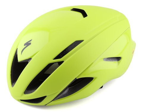 Specialized S-Works Evade Road Helmet (Hyper Green) (L)