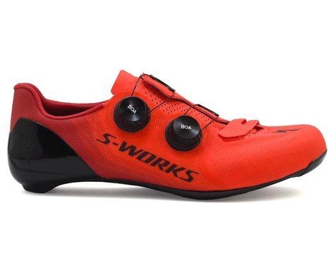 Specialized S-Works 7 Road Shoes (Rocket Red/Candy Red LTD) (42.5)