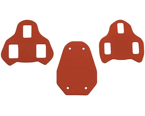 Specialized Body Geometry Cleat Stackers (Red) (3mm) (2 Pack) (Look Keo)