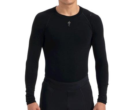 Specialized Seamless Merino Long Sleeve Base Layer (Black) (XS)