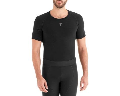 Specialized Seamless Merino Short Sleeve Base Layer (Black) (S)