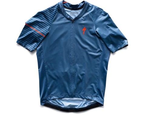 Specialized SL Air Short Sleeve Jersey (Storm Grey/Cast Blue Aspect) (XS)