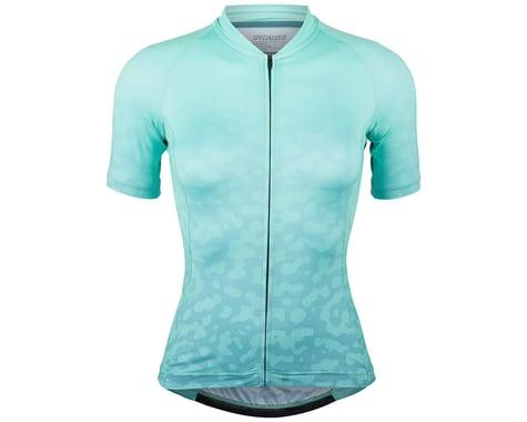 Specialized Women's SL Short Sleeve Jersey (Mint/Dusty Turquoise Terrain) (S)