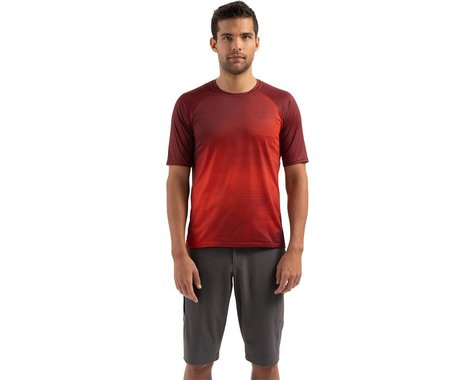 Specialized Enduro Air Short Sleeve Jersey (Crimson/Rocket Red Refraction) (M)