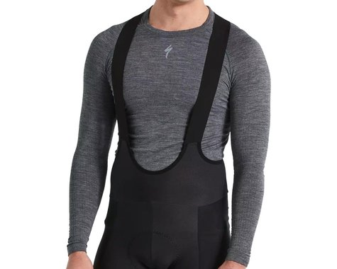 Specialized Men's Merino Seamless Long Sleeve Base Layer (Grey) (L/XL)