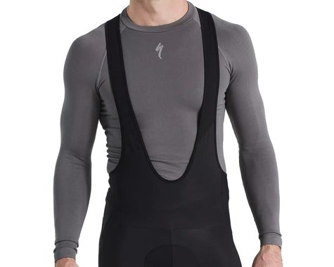 Specialized Men's Seamless Long Sleeve Baselayer (Grey) (S/M)