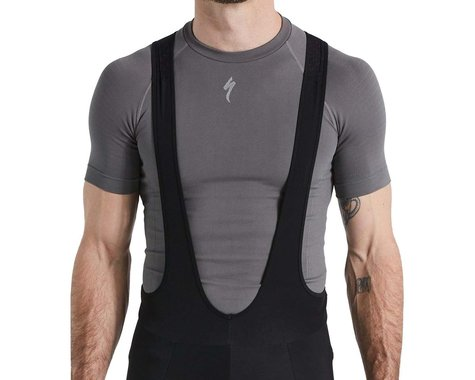 Specialized Men's Seamless Short Sleeve Base Layer (Grey) (L/XL)