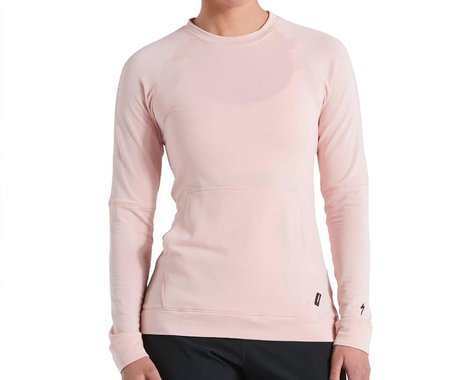 Specialized Women's Trail Thermal Power Grid Long Sleeve Jersey (Blush) (XL)
