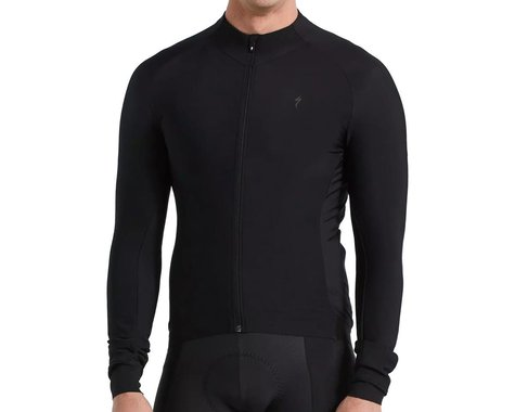 Specialized Men's SL Expert Long Sleeve Thermal Jersey (Black) (S)