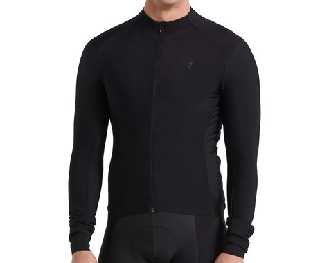 Specialized Men's SL Expert Long Sleeve Thermal Jersey (Black) (L)