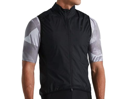 Specialized Men's SL Pro Wind Vest (Black) (XL)