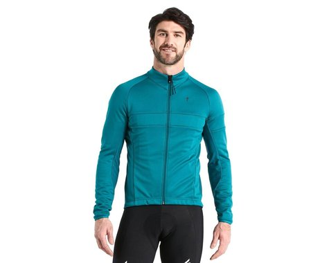 Specialized Men's RBX Comp Softshell Jacket (Tropical Teal) (XL)