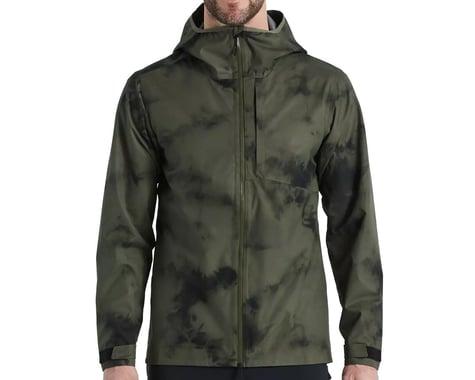 Specialized Men's Altered-Edition Trail Rain Jacket (Oak Green) (L)
