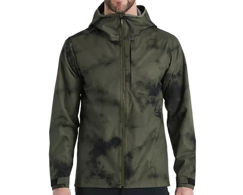 Specialized Men's Altered-Edition Trail Rain Jacket (Oak Green) (XL)