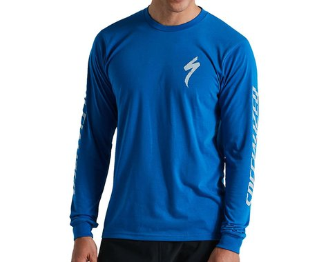 Specialized Men's Specialized Long Sleeve T-Shirt (Cobalt) (S)