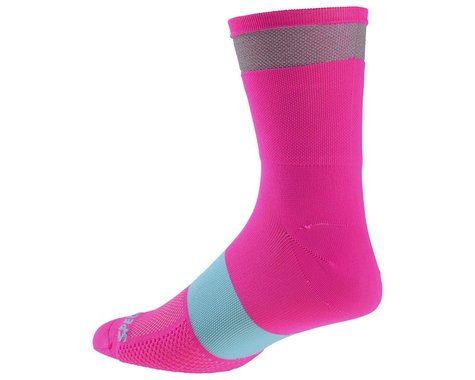 Specialized Reflect Tall Socks (Neon Pink) (S)