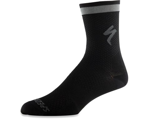 Specialized Soft Air Reflective Tall Socks (Black) (S)