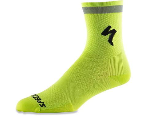 Specialized Soft Air Reflective Tall Socks (Hyper Green) (S)