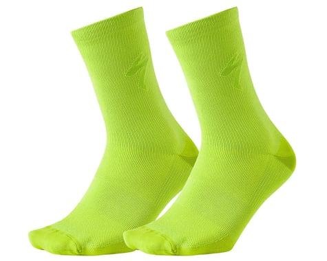 Specialized HyprViz Soft Air Reflective Tall Socks (HyperViz) (S)