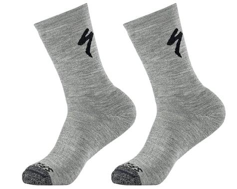 Specialized Merino Deep Winter Tall Socks (Dove Grey) (S)