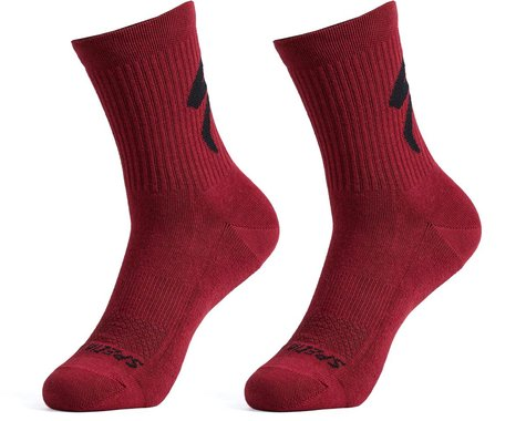 Specialized Cotton Tall Logo Socks (Maroon) (S)