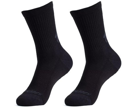Specialized Cotton Tall Socks (Black) (S)