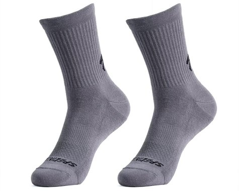 Specialized Cotton Tall Socks (Smoke) (S)