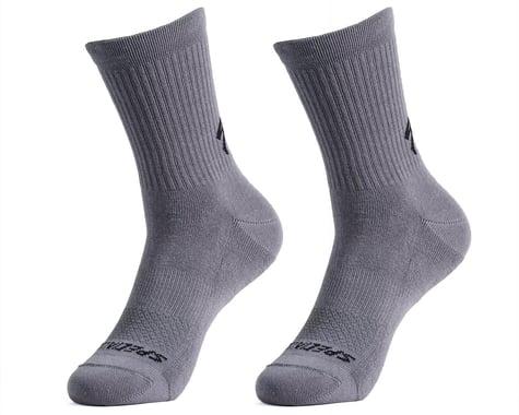 Specialized Cotton Tall Socks (Smoke) (L)