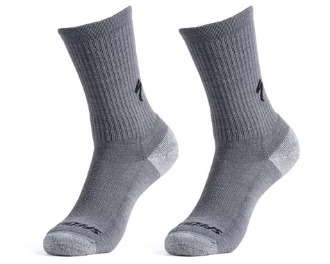 Specialized Merino Midweight Tall Socks (Smoke) (S)