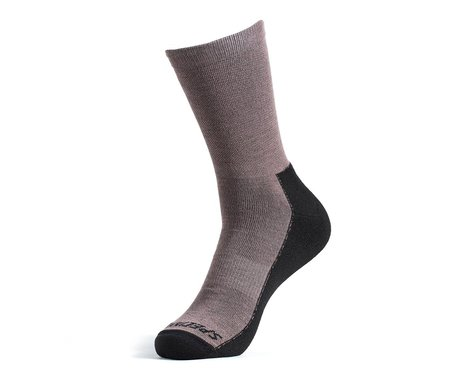 Specialized Primaloft Lightweight Tall Logo Socks (Gunmetal) (XL)
