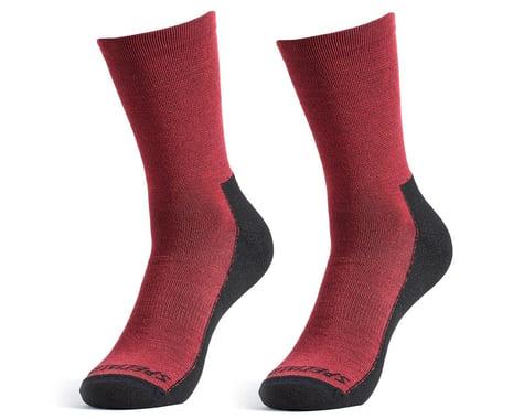 Specialized Primaloft Lightweight Tall Logo Socks (Maroon) (L)