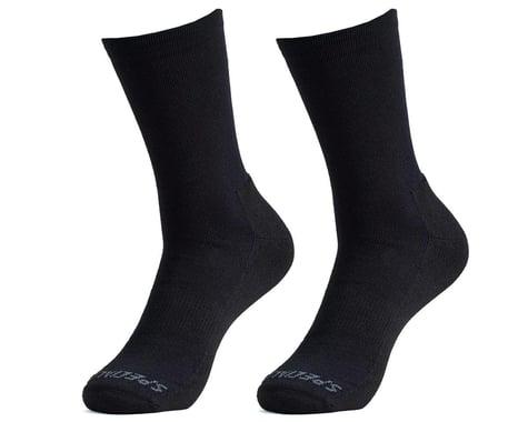 Specialized Primaloft Lightweight Tall Socks (Black) (XL)