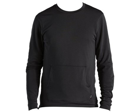Specialized Men's Trail Thermal Power Grid Long Sleeve Jersey (Black) (L)