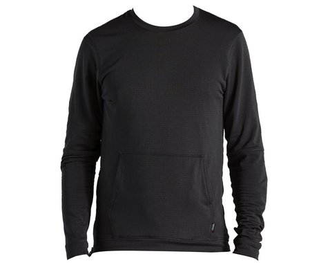 Specialized Men's Trail Thermal Power Grid Long Sleeve Jersey (Black) (XL)