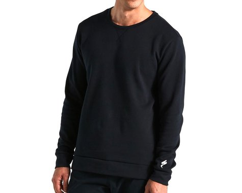 Specialized Men's Legacy Crewneck Sweatshirt (Black) (S)