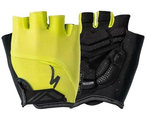 Specialized Women's Body Geometry Dual-Gel Gloves (Hyper Green) (S)