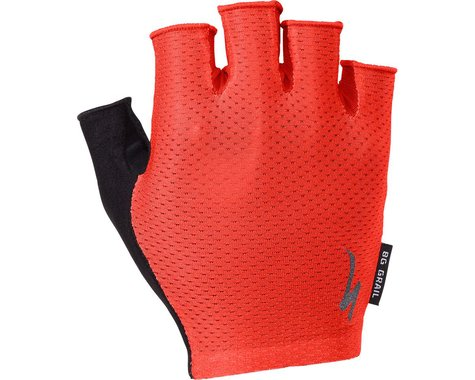 Specialized Body Geometry Grail Short Finger Gloves (Red) (S)