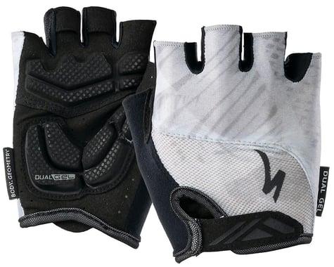 Specialized Women's Body Geometry Dual-Gel Gloves (Dove Grey Fern) (XL)