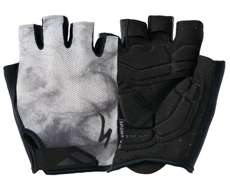 Specialized Men's Body Geometry Sport Gel Gloves (Dove Grey Marbled) (S)