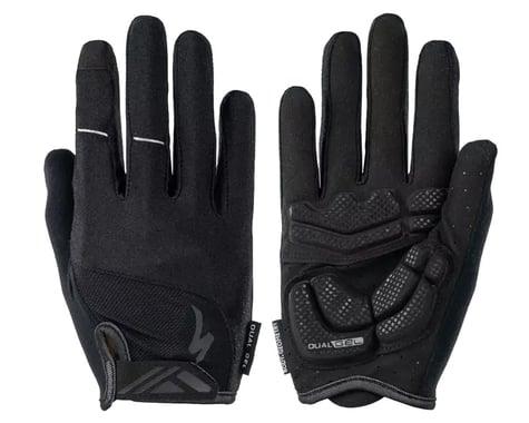 Specialized Body Geometry Dual-Gel Long Finger Gloves (Black) (XL)