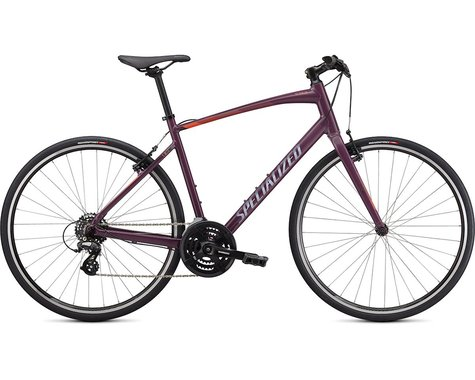 Specialized 2021 Sirrus 1.0 (GLOSS CAST LILAC / VIVID CORAL / SATIN BLACK REFLECTIVE) (M)