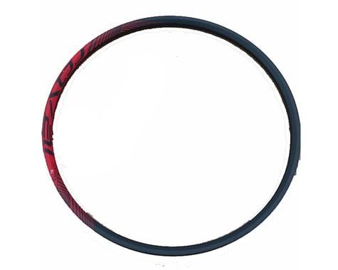 "Specialized 2014 Roval Control Trail 29 SL Carbon Rim (Black/Red) (32H) (Presta) (29"" / 622 ISO)"