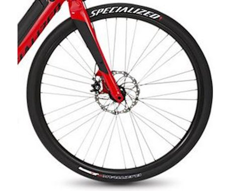 Specialized 2014-15 Turbo S Front Wheel (Black) (15 x 100mm) (700c / 622 ISO)