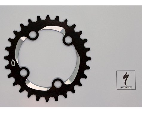 Specialized 2016 Fuse/Ruze Single Chainring (Black/Silver) (76mm BCD) (Offset N/A) (28T)